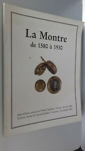 Catalogo-De-La-Reloj-Mecanismo-Hotel-Drouot-Sandelin-Junio-1982-Buen-Estado