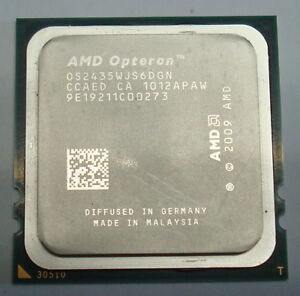 1207 OS2435WJS6DGN AMD Six-Core Opteron 2435 2.60GHz - Tested Socket Fr6