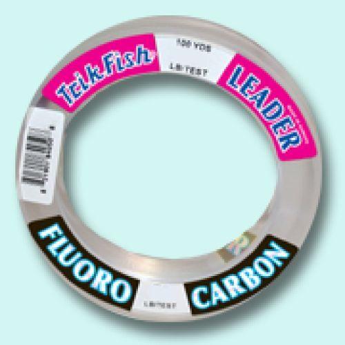 Trik Fish Fluorocarbon Leader 25 yards u pick line class - Free Ship