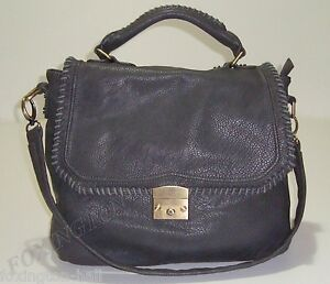 Image Is Loading Beautiful Paul Amp Joe Sister Dark Grey Satchel