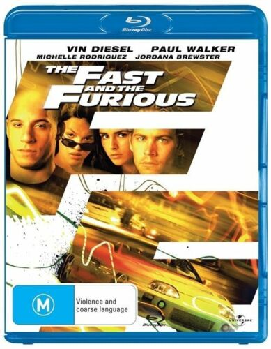 1 of 1 - The Fast And The Furious (Blu-ray, 2009)