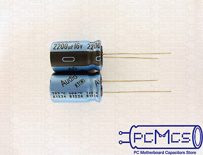 6 pcs Nichicon MUSE FG 16v 1000~4700uf Audio Grade