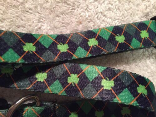 Patrick/'s Day Dog Collar Ireland Argyle by Yellow Dog Design All Sizes St