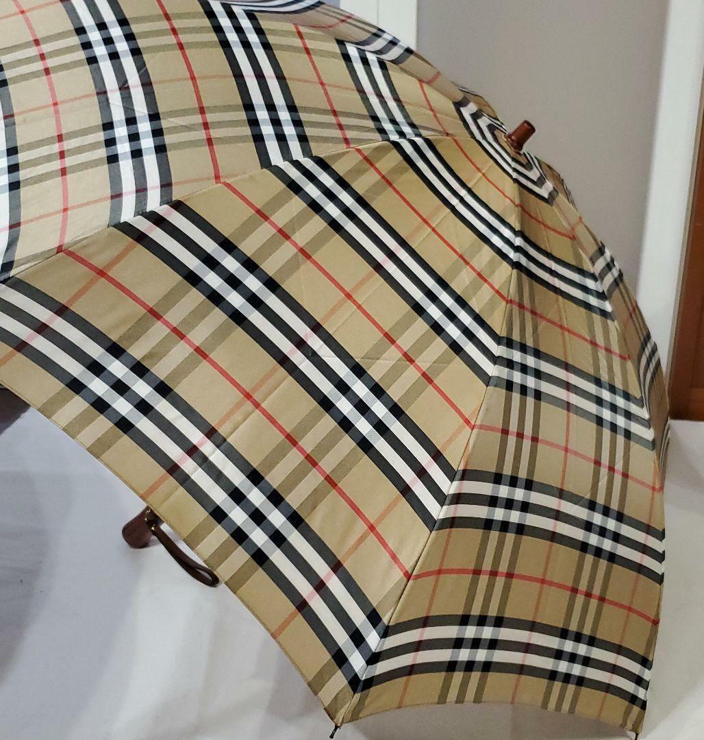 Tagged Burberry Folding Umbrella _29211