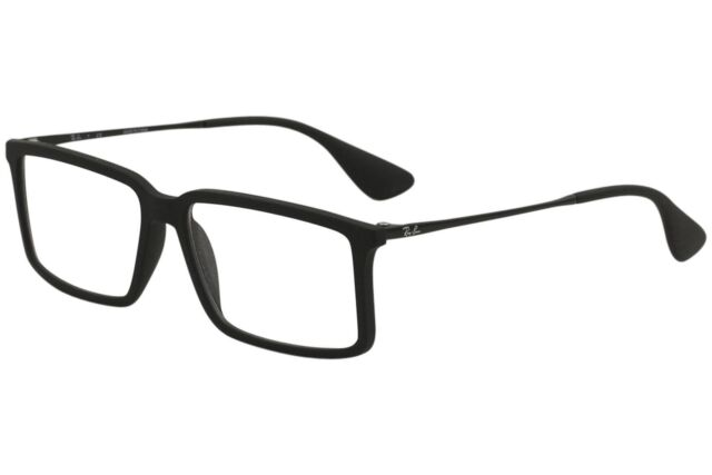 eb0e90354b Ray Ban Eyeglasses RX7043 RX 7043 RayBan 5364 Black Rubber Optical Frame  54mm