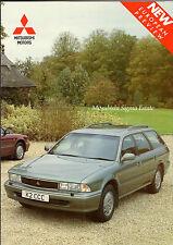 Mitsubishi Sigma Estate 3.0 V6 1992-93 UK Market Preview Foldout Sales Brochure