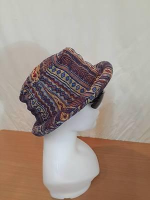 SHRINE HATS Rasta Hill Tribe Festival Roll Hat