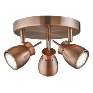 Image Is Loading Searchlight Cu Jupiter Antique Copper  Light Ceiling