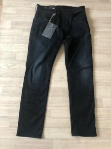 Slander Jeans Skinny Raw Bnwt Gstar 3301jeans Rrp L32 W32 £ 90 qfRExtxwI