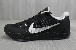 495eea2d7a5 27 Nike Kobe XI TB Promo Black Metallic Silver-White 856485-001 ...