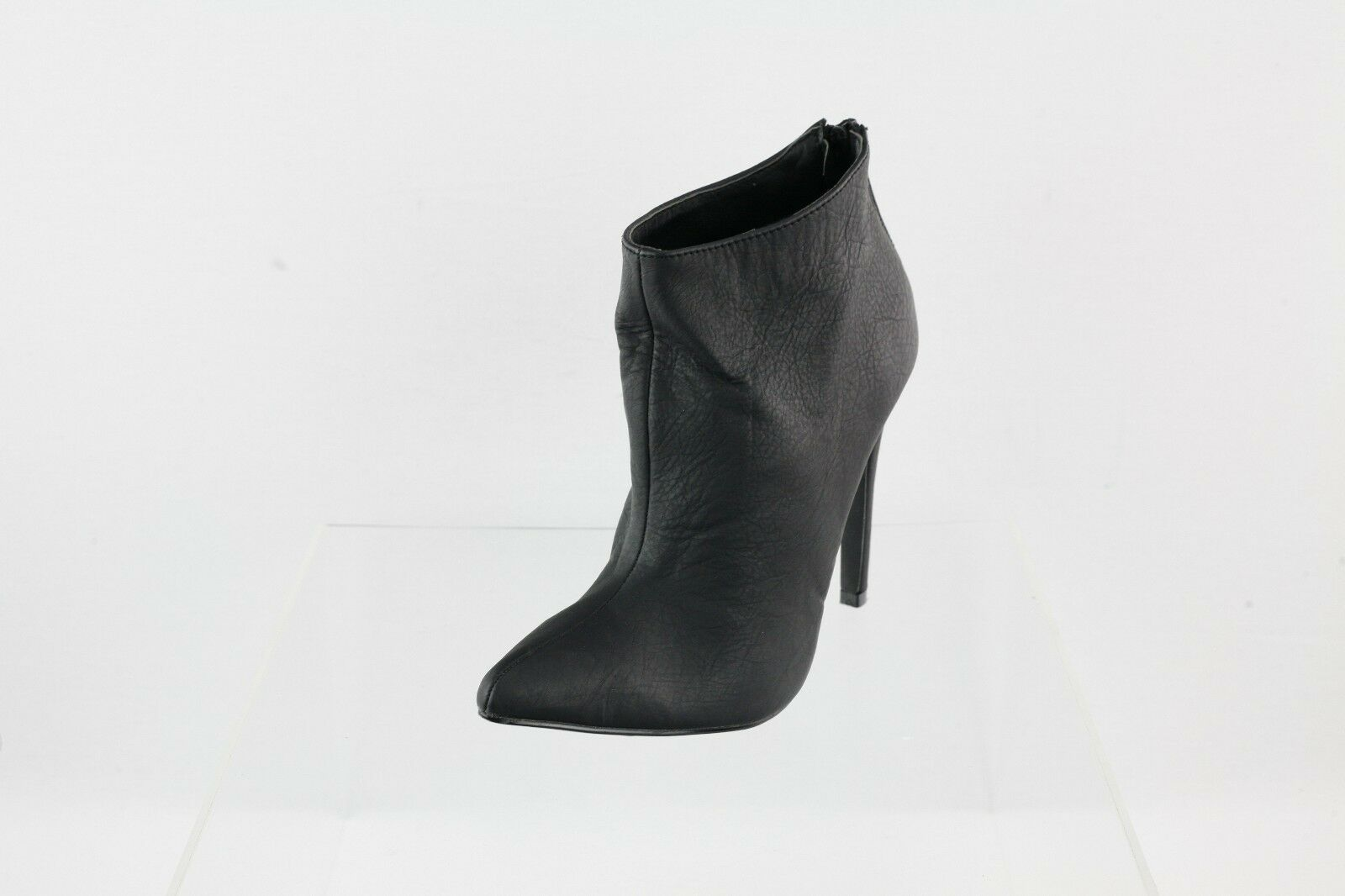 Women's Michael Antonio Black Pointed Toe Heeled Ankle Boots Size 6 M