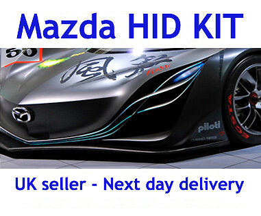 H7 Slim HID Conversion Kit For Mazda 3 2003