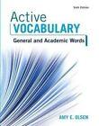 Active Vocabulary by Amy E Olsen (Mixed media product, 2016)