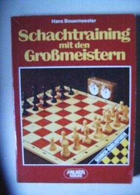 Schachtraining mit den Großmeistern, Hans Bouwmeester, Falken 1987