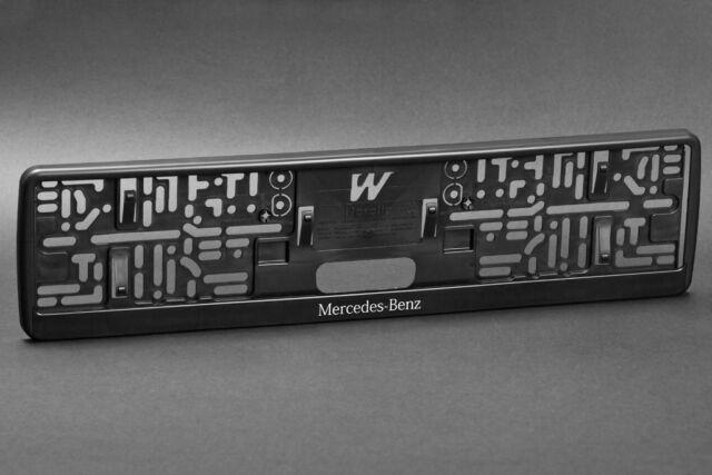 2 x Mercedes Number Plate Frame Surround Holder & 2 X MERCEDES AMG Number Plate Frame Surround Holder | eBay
