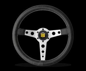 momo prototipo heritage steering wheel silver momo hub. Black Bedroom Furniture Sets. Home Design Ideas