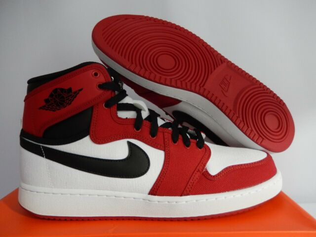 Air Jordan 1 KO High OG Chicago Size 11 White Black Gym Red 638471 ... 9146f272d