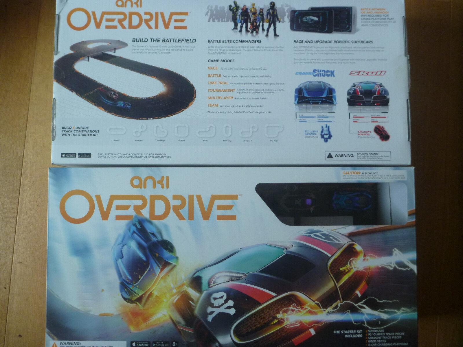Anki Overdrive Starter Kit - Zustand neuwertig   as new complete