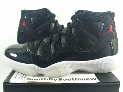 Nike Air Jordan 11 72-10 Size 12 XI Retro With Receipt 7210 Black 378037-002 DS