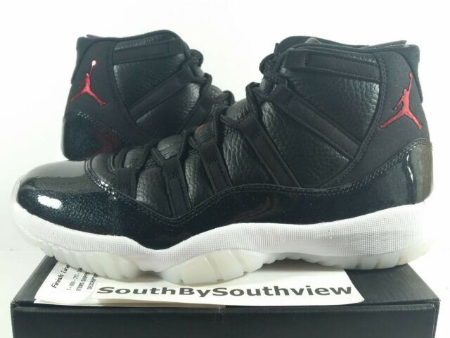 Nike Air Jordan 11 72-10 Size 9 XI Retro With Receipt 7210 Black 378037