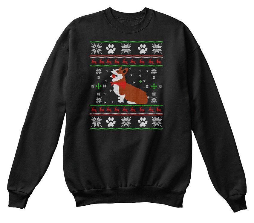 Corgi Dog- Ugly Ugly Ugly Christmas Sweater 2 Standard Unisex Sweatshirt | ein guter Ruf in der Welt  | Perfekt In Verarbeitung  | Spielzeugwelt, spielen Sie Ihre eigene Welt  1e75c9