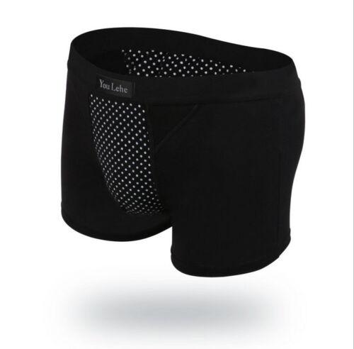 1PCS Mens Magnet Health Black Boxer Underwear #93215