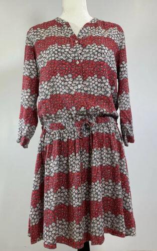Celia Birtwell Uniqlo Large Floral Print Dress But