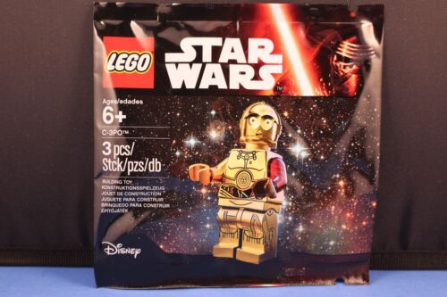 LEGO® STAR WARS™ The Force Awakens C-3PO™ Minifigure with Red Arm Sealed 5002948