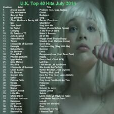 Promo Video DVD, UK Top 40 Hit Videos July 2014 Dance/Pop, FRESHEST Only on Ebay