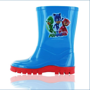 Boy/'s PJ Masks Asama Welly Code Paw Size 5 To 10 New Genuine In Bag  Free P/&P