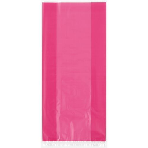 20 /& 30 Party Cellophane Gift Treat Sweet Cello Bags Clear Patterned Twist Ties