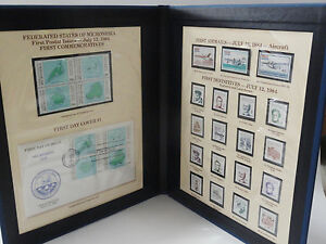 RARE 1974 FEDERATED FEDERATED STATES OF MICRONESIA FIRST COMMEMORATIVES BOOK