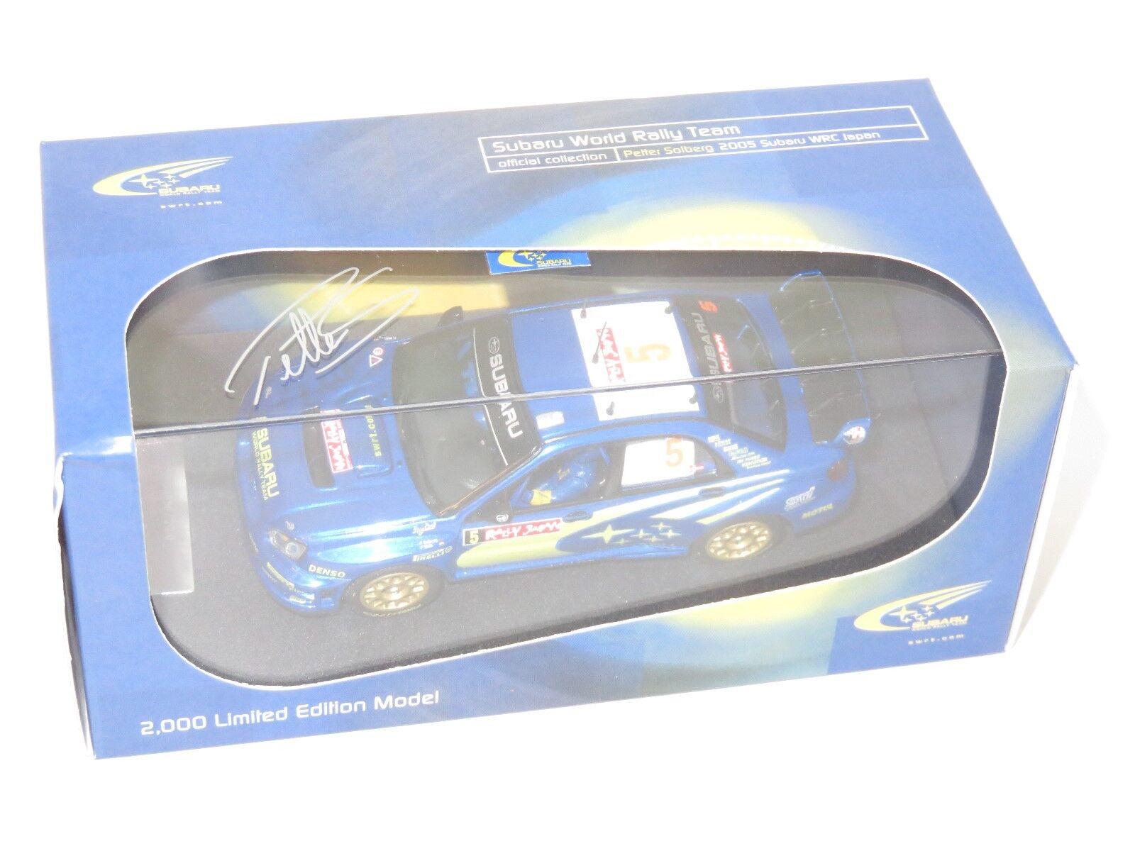 1 43 Subaru Impreza WRC  Rally Japan 2005  P.Solberg   Prodrive Limited Edition