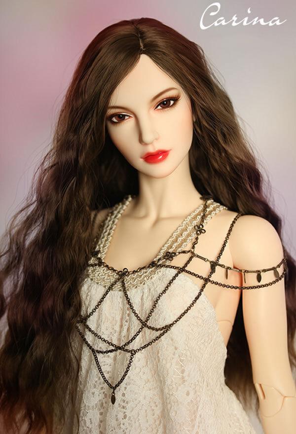1 3 BJD Doll SD Doll Girl Eid Carina -Free Face Mae UP+Free Eyes+Free DHL