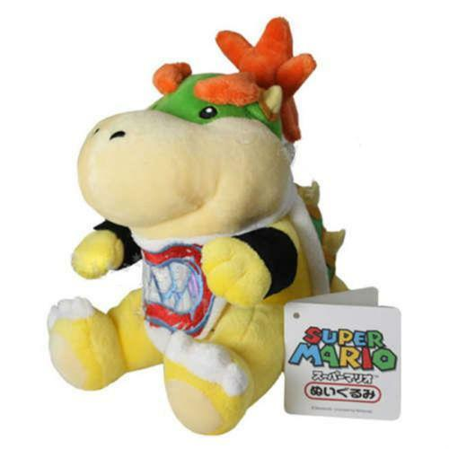 "7/"" Bowser Jr. 2017 Nouveau Super Mario Brothers Plush Soft Stuffed Plush Toy Doll"