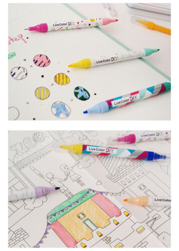 Pen Highlighter Writing supplies Stationery MONAMI LIVE COLOR DIY SPECIAL SET