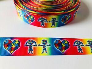 Autism Awareness Rainbow Puzzle Piece