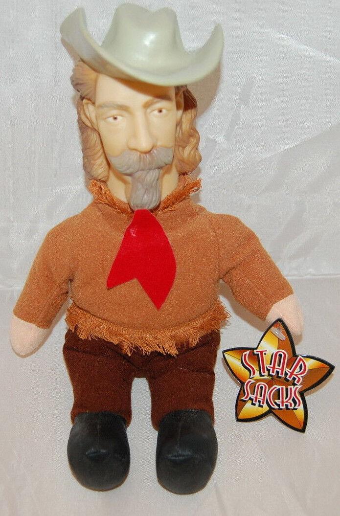Buffalo Bill Cody Limited Edition Muñeca Peluche occidental cabezal giratorio de plástico 12
