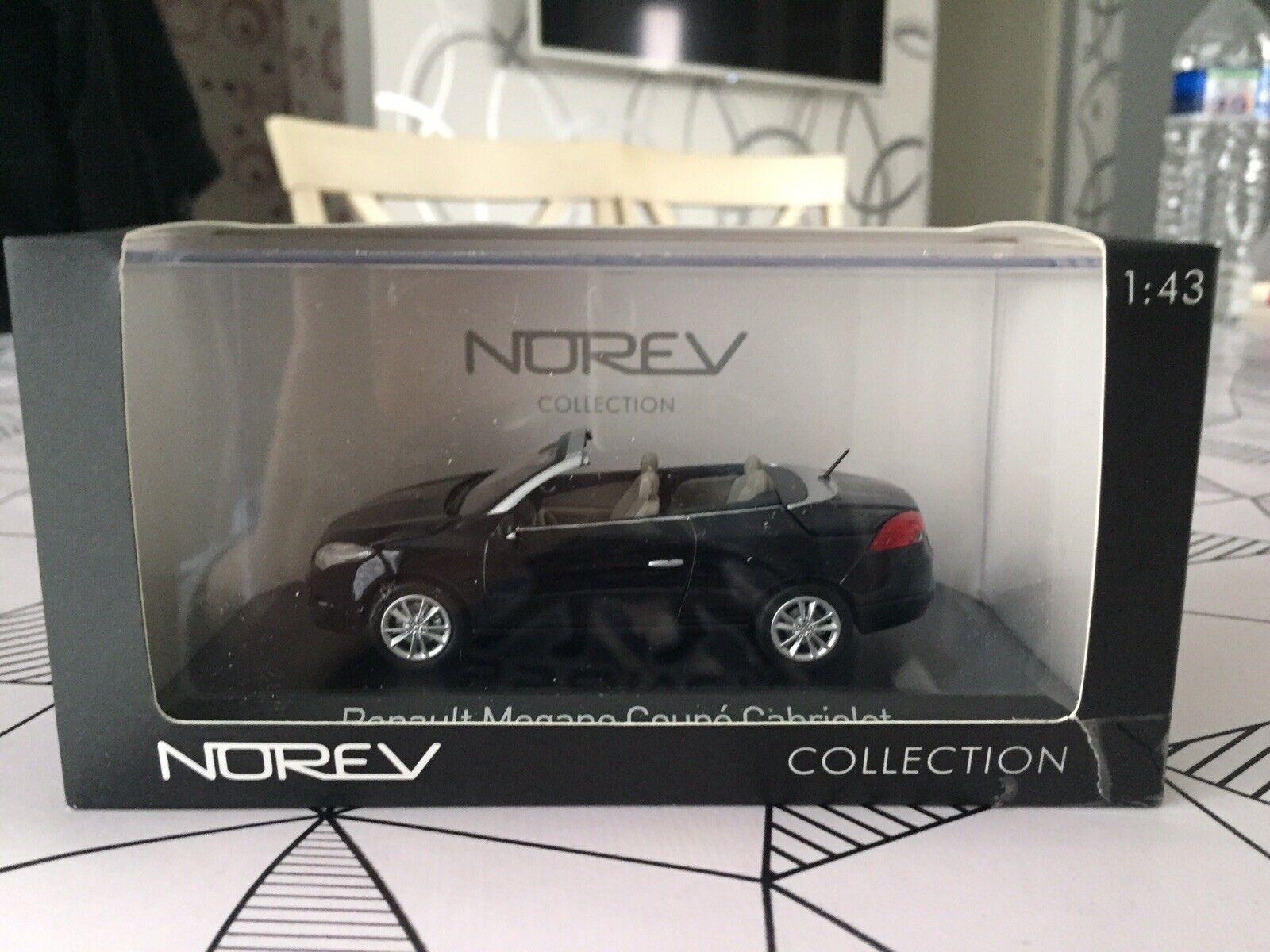 Norev  Renault Megane III Coupé Cabriolet nero