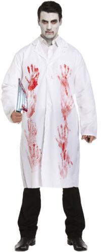 Bloody Zombie Doctor Surgeon Nurse Fancy Dress Halloween Horror Couples Costume
