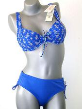Triumph Bikini Set  -  40 C + 40 Midi  -  blau NEU ( GB 36 / FR 42 / IT 46 )