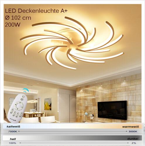 S2042-5WJ  LED Deckenleuchte Fernbedienung Lichtfarbe//Helligkeit einstellbar A+