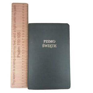 Polish-Bible-Old-and-New-Testament-Biblia-Gdanska-UBG-Medium-Leatherlike-Black