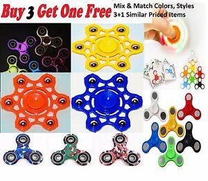 Camouflage-Tri-spinner-Finger-Spinner-Hand-Fidget-EDC-ADHD-Autism-Desk-Focus-Toy