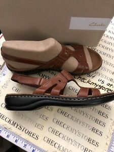 9076feb9d2dd Image is loading Clarks-Leisa-Annual-Casual-Sandals-Leather-Womens-Comfort-