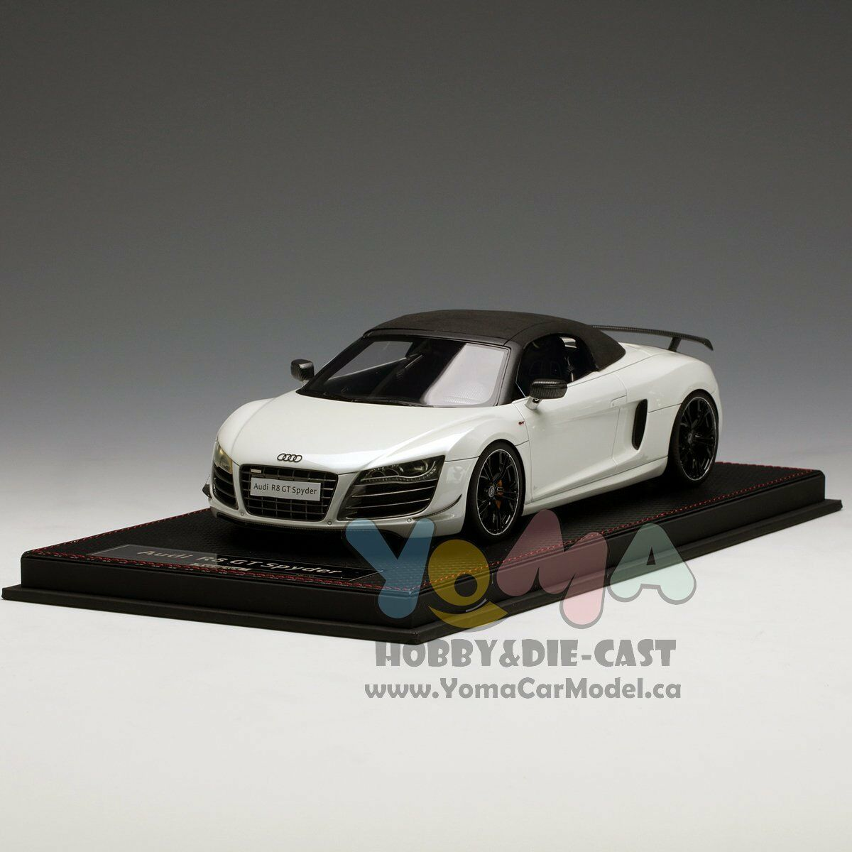 Frontiart 1/18 Audi R8 GT bianca F036-29