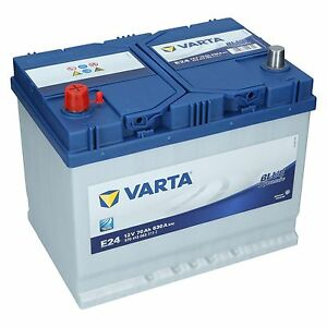 varta 12v 70 ah 630a en e24 blue dynamic autobatterie. Black Bedroom Furniture Sets. Home Design Ideas