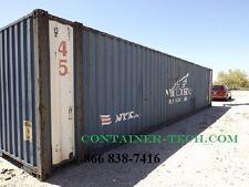 45' HC cargo shipping storage container conex box / Wilmington, Calif