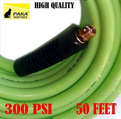 3//8-Inch by 25-Feet 3 PACK Air Hose PVC//Rubber PAKA TOOLS  300 PSI Hybrid