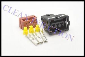 MAF MASS FLOW SENSOR plug pigtail fit 89 90 Nissan 240sx S13 KA24E SOHC